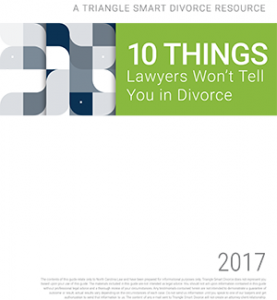 divorce help in raleigh