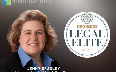 Family Law Attorney Jenny Bradley Among Business North Carolina's Legal Elite